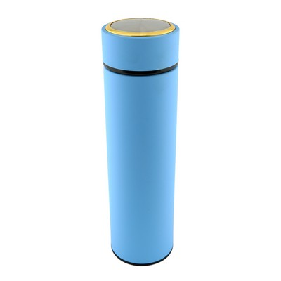 15 Oz. Matte Stainless Steel Vacuum Flask