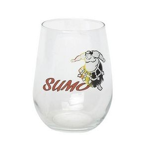 17 Oz. Stemless Wine Glass (Import)